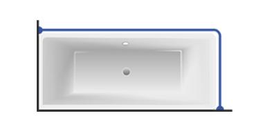 Карниз Г-образный угловой